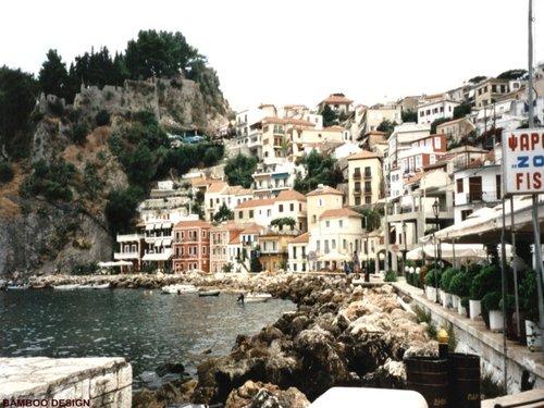 Greece 바탕화면 titled Parga, Greece