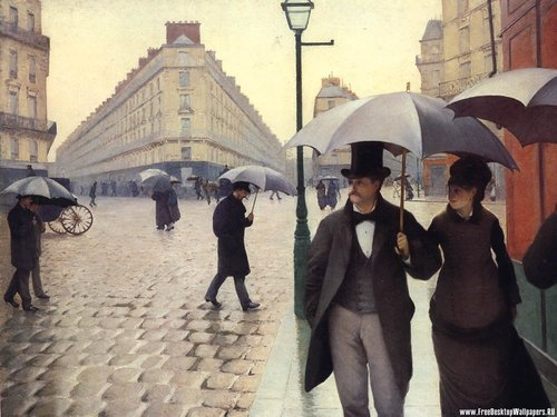 Paris: A Rainy jour