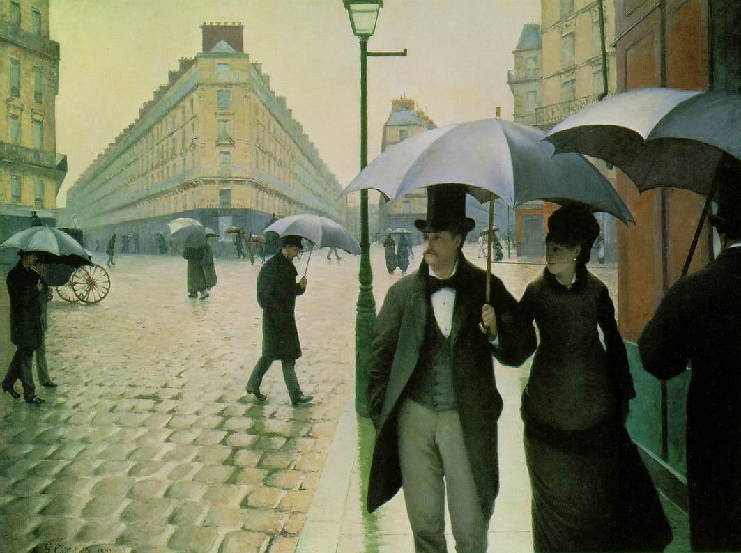 Paris: A Rainy دن