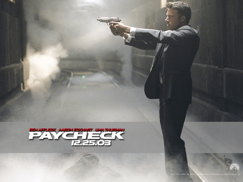 Ben Affleck wallpaper called Paycheck