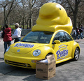 Peep-mobile - marshmallow-peeps photo