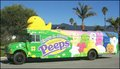 Peeps Bus - marshmallow-peeps photo
