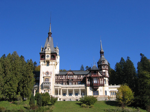 Peleş château