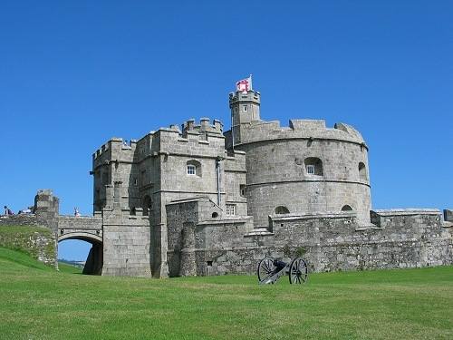 Pendennis गढ़, महल