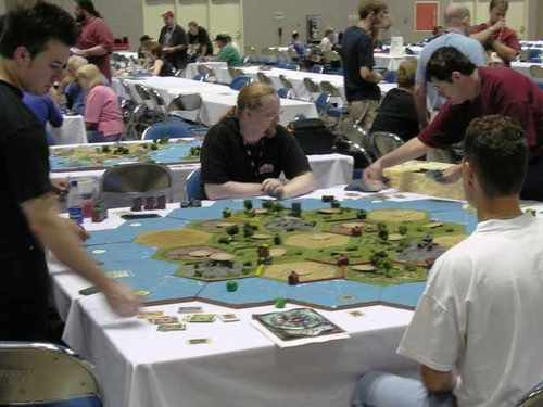 People playing Settler - settlers-of-catan Photo