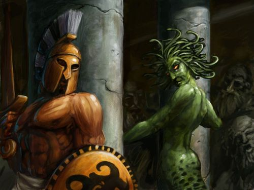 Perseus and Medusa - greek-mythology Wallpaper