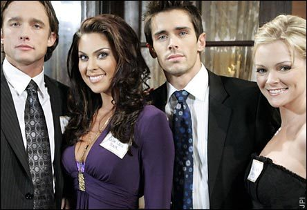 Days of Our Lives hình nền entitled Phillip, Chloe, Belle, & Shawn