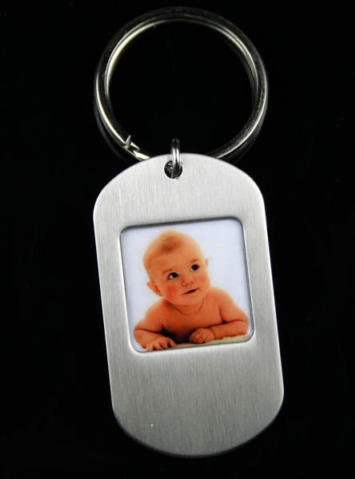foto Dog Tag Keychain