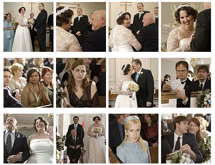Phyllis' Wedding Collage