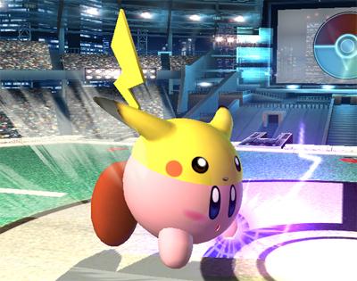 পিকাচু Kirby