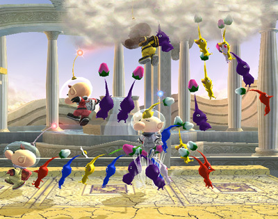 Pikmin & Olimar Special Moves