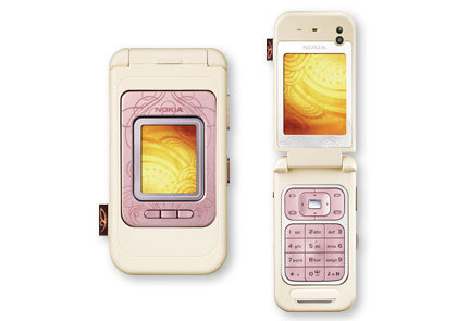 berwarna merah muda, merah muda Cellphone