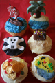 Pirates - cupcakes photo