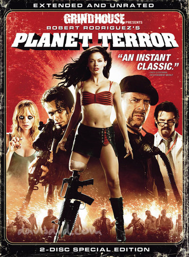 Grindhouse wallpaper titled Planet Terror