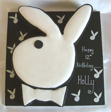 Playboy Bunny Cake - playboy Photo