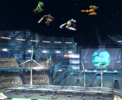 Super Smash Bros. Brawl 壁纸 called Pokemon Stadium 2