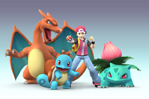 Super Smash Bros. Brawl karatasi la kupamba ukuta called Pokemon Trainer
