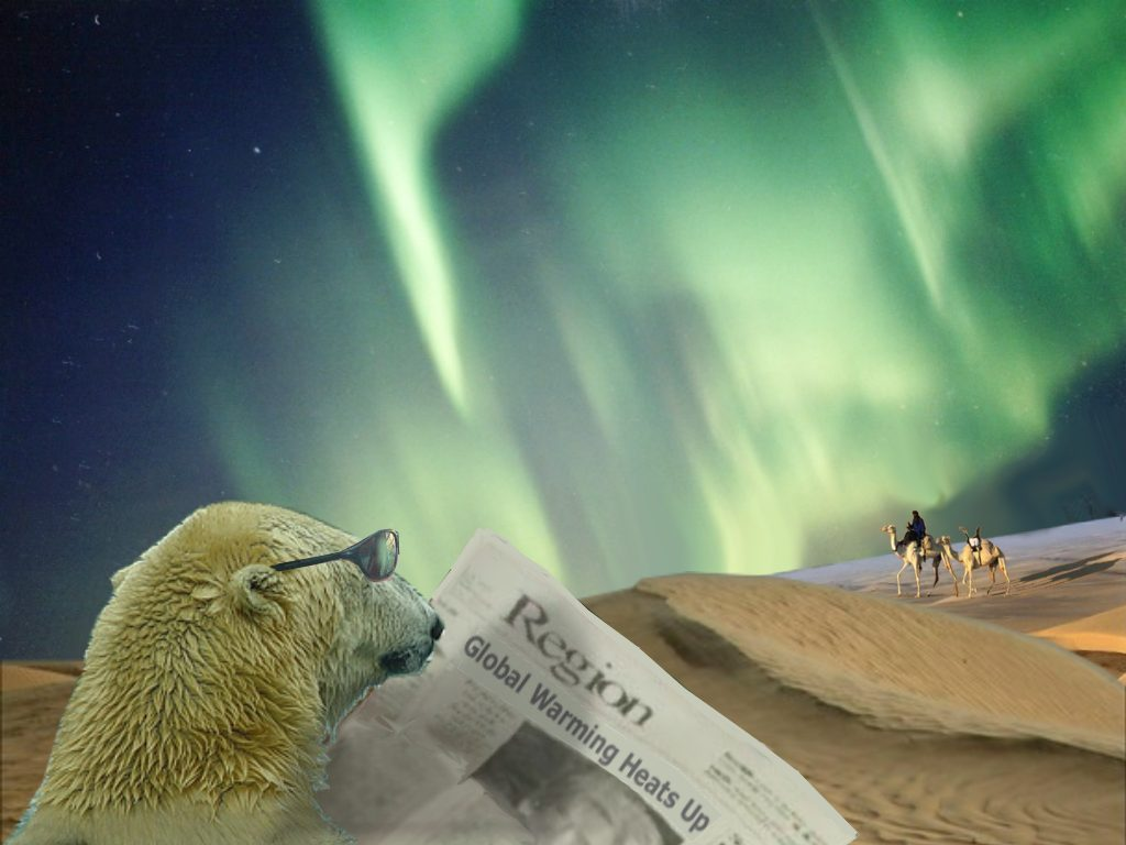 "polar bears and global warming ""on a global level, polar bears represent a challenge that we might all  polar  bears and other arctic animals face in a warming environment."