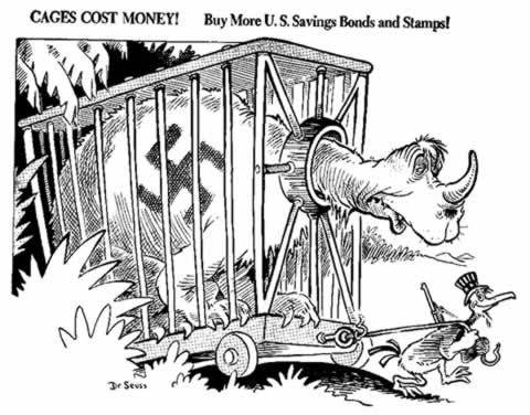 Political Cartoons door Seuss