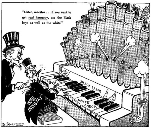 Political Cartoons by Seuss
