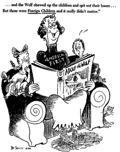 Political caricaturas por Seuss