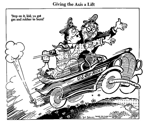 Political cartoni animati da Seuss