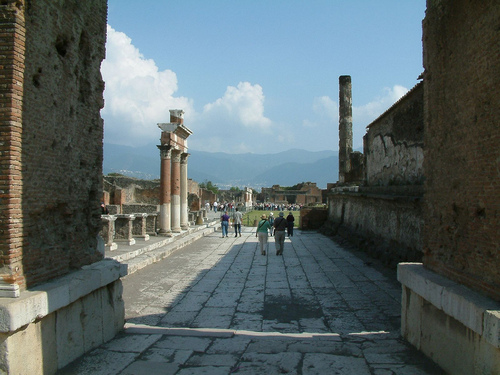 Ancient History wallpaper called Pompeii, Italy