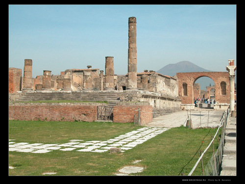 Ancient History wallpaper entitled Pompeii, Italy