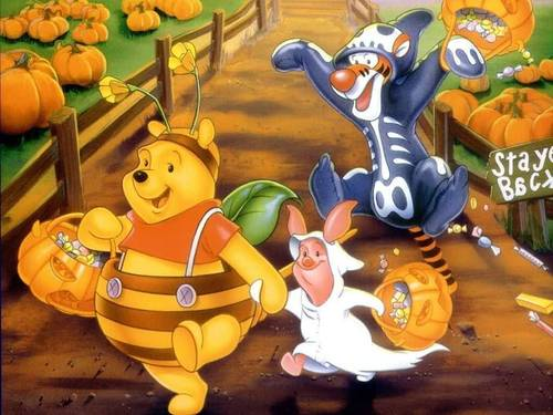 Pooh halloween