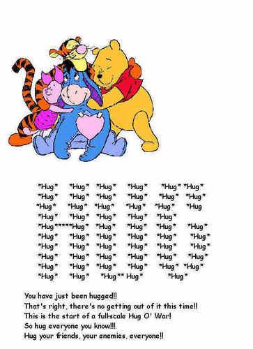 Pooh Hugs
