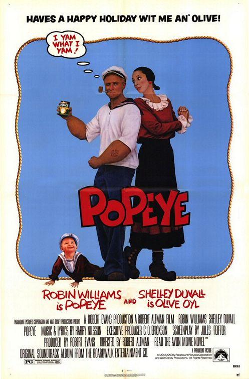 Popeye (1980) - 80s Films Photo (298841) - Fanpop