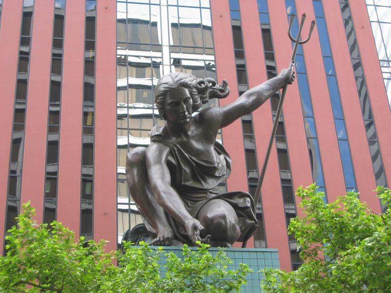 Portland images portlandia sculpture hd wallpaper and for Garden statues portland oregon