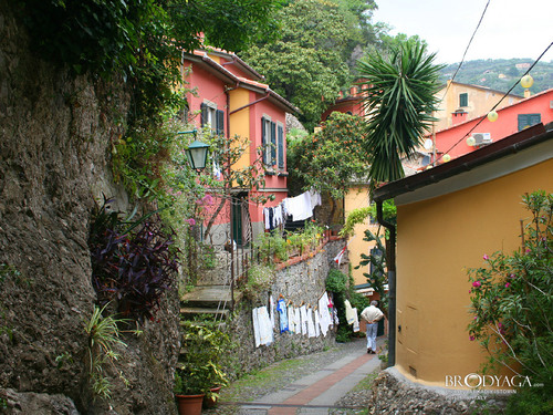 Italy Hintergrund called Portofino