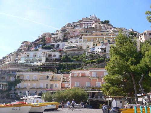 Italy Hintergrund called Positano
