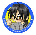 Presidential Buttons - the-pendragon-adventure fan art