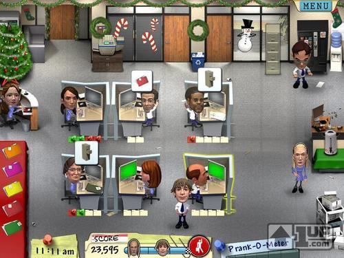 visualização The Office Game