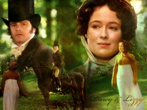 Book to Screen Adaptations achtergrond called Pride and Prejudice (1995)