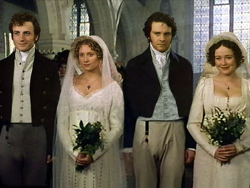 Book to Screen Adaptations kertas dinding called Pride and Prejudice (1995)