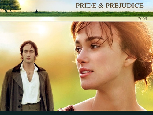 Book to Screen Adaptations Обои entitled Pride and Prejudice (2005)