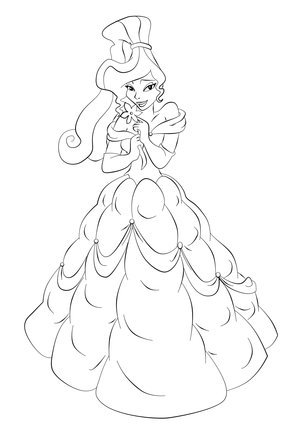 Princess Outfit Crossovers