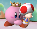 Princess pêche, peach Kirby