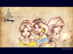Disney Princess wallpaper called Princesses