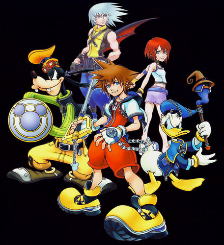Kingdom Hearts Обои called Promotional Art
