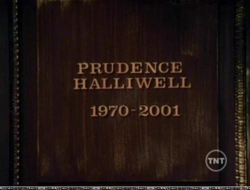 Prue Halliwell R.I.P.