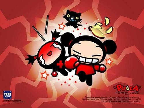 Pucca Funny amor