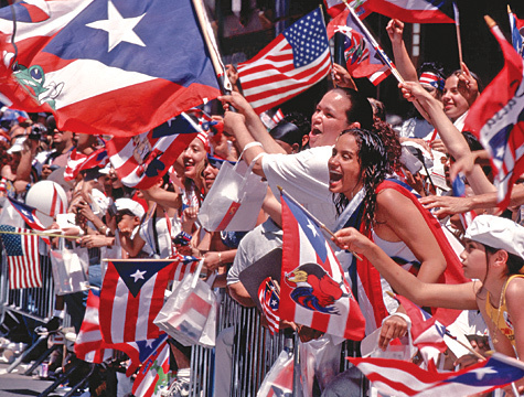 Puerto Rican hari Parade (NY)