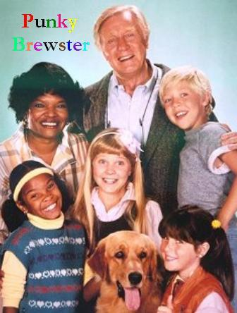 The 80s wallpaper entitled Punky Brewster Cast