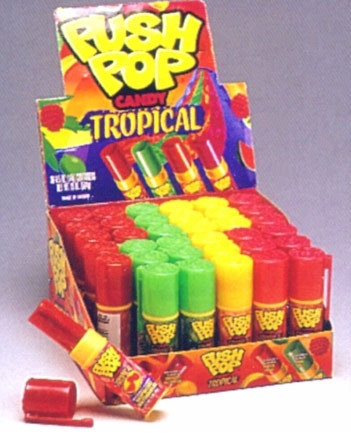 The 90s karatasi la kupamba ukuta titled Push Pops