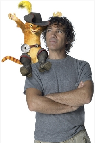Puss and Antonio Banderas