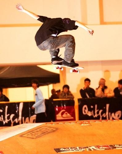 Quiksilver skateboard